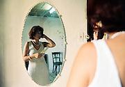 "La mariée, Cuba, 1997 - extrait de la série ""Jineteras, Cuba"" 1997"