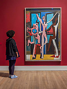 The Three Dancers - The EY Exhibition: Picasso 1932 – Love, Fame, Tragedy a new exhibition at the Tate Modern.  It brings together over 100 works made by Pablo Picasso (1881–1973) during 1932, one of the most intensely creative periods in his life.