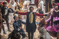 December 11, 2017 - FILE - Golden Globes 2018 Nominees - Nominated for Best Actor, Comedy Hugh Jackman, The Greatest Showman - RELEASE DATE: December 2o, 2017 TITLE: The Greatest Showman STUDIO: Twentieth Century Fox DIRECTOR: Michael Gracey PLOT: Inspired by the imagination of P.T. Barnum, The Greatest Showman is an original musical that celebrates the birth of show business and tells of a visionary who rose from nothing to create a spectacle that became a worldwide sensation.STARRING: HUGH JACKMAN as Barnum. (Credit Image: © Twentieth Century Fox/Entertainment Pictures/ZUMAPRESS.com)