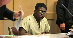 April 26, 2017 - Fort Lauderdale, FL, USA - Kodak Black is in court for the third day of his probation hearing on April 26, 2017 in Fort Lauderdale, Fla. (Credit Image: © Carline Jean/TNS via ZUMA Wire)