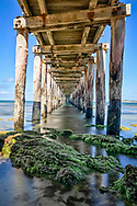 Point Lonsdale Pier on the south coast of Victoria, Australia