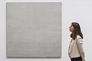 Untitled #1, #14 and #12 - Tate Modern opens major retrospective of American painter Agnes Martin. The exhibition covers the full breadth of her practice from early experimental works with found objects to her late evocative paintings, reasserting her position as a key figure in the traditionally male-dominated field of American abstraction. Highlights include: Martin's important early work Friendship 1963, a gold leaf covered canvas incised with Martin's emblematic fine grid;The artist's group of white paintings The Islands I – XII 1979; and a selection of Martin's large-scale late square paintings rarely seen together including the artist's last work before her death in 2004