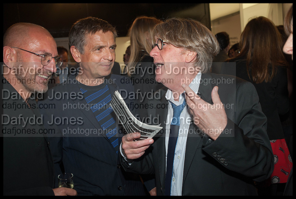 SVEN VAETH; ANDREAS GURSKY; FRANK COHEN, Frank Cohen and Nicolai Frahm host Julian Schnabel's 'Every Angel has a Dark Side,' private view and party. IN AID OF CHICKENSHED. Dairy Art Centre, 7a Wakefield Street, London. 24 APRIL 2014