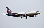 VQ-BIW Aeroflot Airbus A320 Photographed at Malpensa airport, Milan, Italy