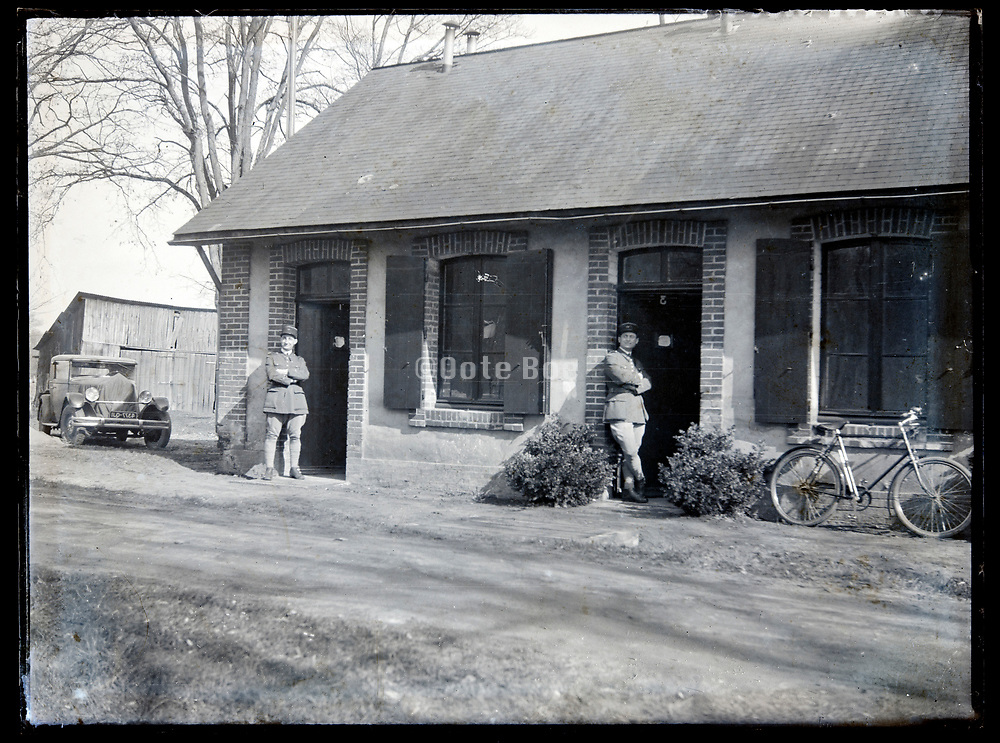 rural police at their post France circa 1930s