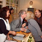 Installatie nieuwe raadsleden gemeente Huizen, felicitatie Leefbaar Huizen