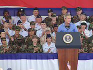 2003 - President Bush visits the National Museum of the US Air Force in Dayton for July 4th