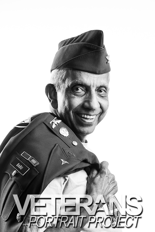 Sankaran S. Babu, M.D.<br /> Army<br /> O-6<br /> Physician (Radiologist)<br /> 05/69-08/94<br /> Vietnam War<br /> <br /> Model Release: Yes<br /> Photo by: Stacy L. Pearsall