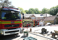 Builder Burnt in House Fire