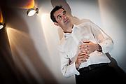Editorial photograph of businessman in Edinburgh, Scotland