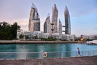 Singapour, complexe residentiel Reflections at Keppel Bay par l'architecte americain Daniel Libeskind // Singapore, residentiel building Reflections at Keppel Bay by Americain architect Daniel Libeskind