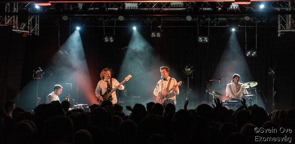 """Mahogni har konsert på Terminalen i Ålesund i forbindelse med slipp av plata """"Ta Gata"""".<br /> Foto: Svein Ove Ekornesvåg"""