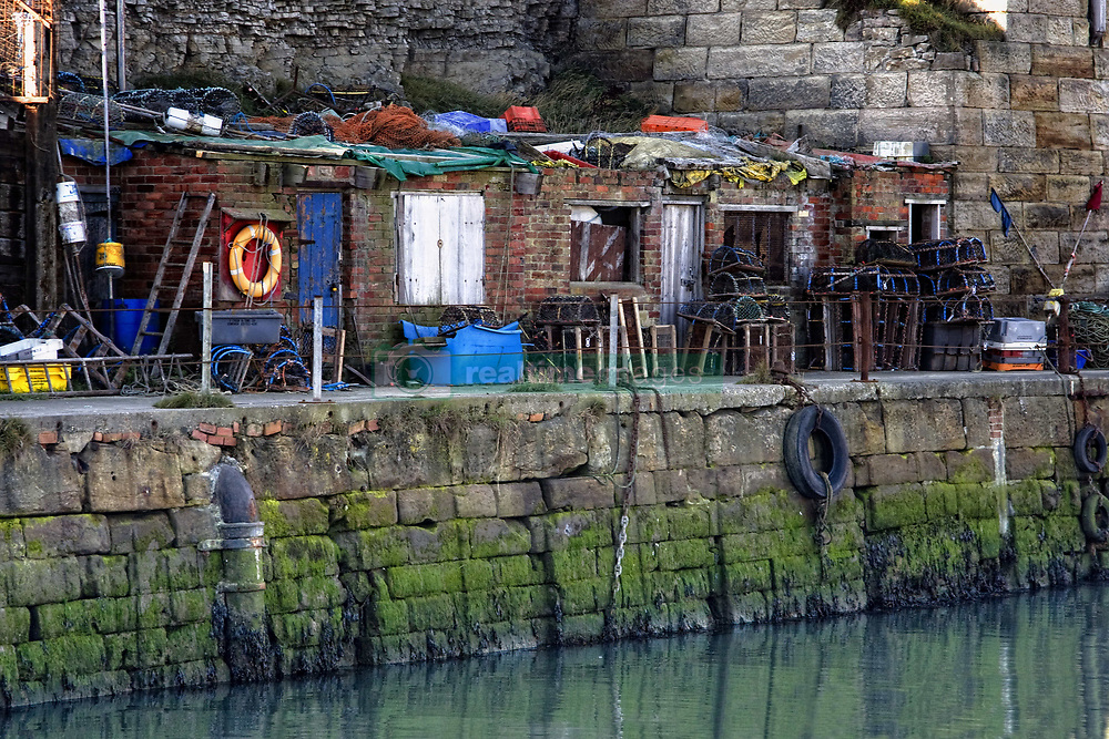 July 21, 2019 - Buildings Along Waterfront And Sea Wall, Seaham, Teesside, England (Credit Image: © John Short/Design Pics via ZUMA Wire)