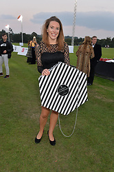 ELLIE SANDCLIFFE at the Chovgan Twilight Polo Gala in association with the PNN Group held at Ham Polo Club, Petersham Close, Richmond, Surrey on 10th September 2014.