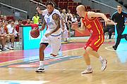 Danzica - Polonia 04 Agosto 2012 - TORNEO INTERNAZIONALE SOPOT CUP - Italia Montenegro<br /> Nella Foto : DANILE HACKETT<br /> Foto Ciamillo