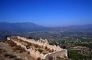 Barrack buildings, city fortress of Tlos, Turkey