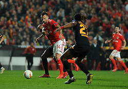 February 22, 2019 - Na - Lisbon, 21/02/2019 - SL Benfica received Galatasaray SK tonight at Est√°dio da Luz in the second qualifying round of the Europa League 2018/2019. Seferovic  (Credit Image: © Atlantico Press via ZUMA Wire)