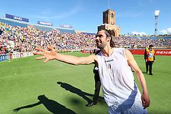 """Foto LaPresse/Filippo Rubin<br /> 27/04/2019 Bologna (Italia)<br /> Sport Calcio<br /> Bologna - Empoli - Campionato di calcio Serie A 2018/2019 - Stadio """"Renato Dall'Ara""""<br /> Nella foto: ANDREA POLI (BOLOGNA F.C.)<br /> <br /> Photo LaPresse/Filippo Rubin<br /> April 27, 2019 Bologna (Italy)<br /> Sport Soccer<br /> Bologna vs Empoli - Italian Football Championship League A 2017/2018 - """"Renato Dall'Ara"""" Stadium <br /> In the pic: ANDREA POLI (BOLOGNA F.C.)"""