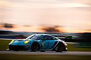 January 22-26, 2020. IMSA Weathertech Series. Rolex Daytona 24hr. #16 Wright Motorsports, Porsche 911 GT3 R, Ryan Hardwick, Patrick Long, Klaus Bachler, Anthony Imperato