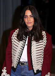 Karen Wazen attending the Burberry London Fashion Week Show at Makers House, Manette Street, London