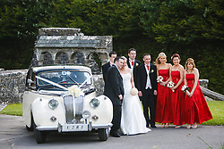 Wedding at Ballintubber Abbey, County Mayo, Ireland