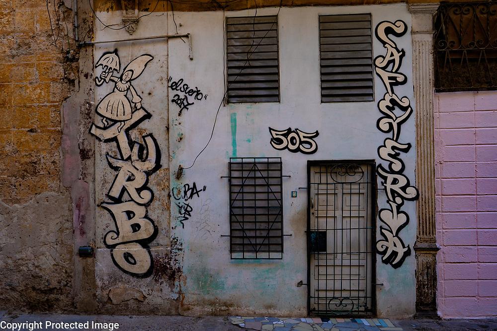 Street art, Havana, Cuba 2020 from Santiago to Havana, and in between.  Santiago, Baracoa, Guantanamo, Holguin, Las Tunas, Camaguey, Santi Spiritus, Trinidad, Santa Clara, Cienfuegos, Matanzas, Havana