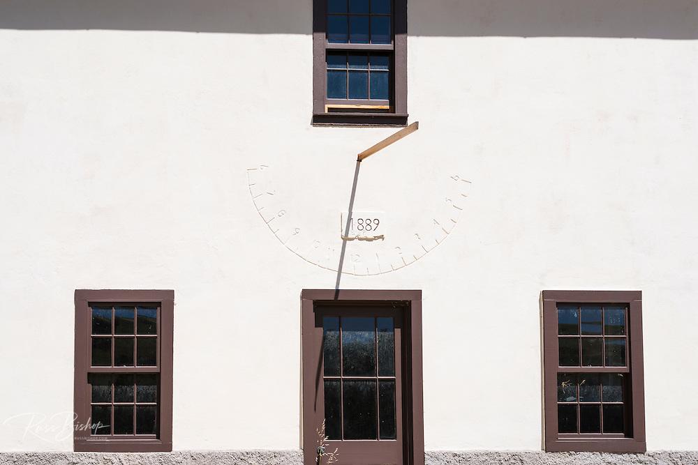 Historic ranch house at Scorpion Cove, Santa Cruz Island, Channel Islands National Park, California USA