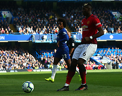 October 20, 2018 - London, England, United Kingdom - London, England - October 20: 2018.Manchester United's Paul Pogba.during Premiership League between Chelsea and Manchester United at Stamford Bridge stadium , London, England on 20 Oct 2018. (Credit Image: © Action Foto Sport/NurPhoto via ZUMA Press)