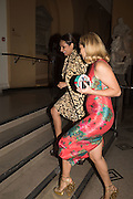 BONNIE TAKHAR; CHARLOTTE OLYMPIA DELLAL, Shoes: Pleasure and Pain. V & A Museum. South Kensington, London. 10 June 2015.