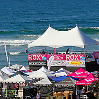 The 3rd Annual Roxy Jam Cardiff Linda Benson Women's World Longboard Professional 2008.