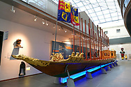 Prince Frederick's Barge in The National Maritime Museum <br /><br /> Photo by Dennis Brack