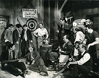 1937 Filming Junior G Men Get Their Man at Warner Bros. Studios