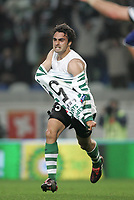 """LISBOA 21 MARCH 2005: # and # in the 26 leg of the Super Liga, season 2004/2005, match  Sporting CP (2) vs FC Porto (0), held in """"Alvalade XXI"""" stadium,  21/03/2005  22:24:33<br /> (PHOTO BY: NUNO ALEGRIA/AFCD)<br /> <br /> PORTUGAL OUT, PARTNER COUNTRY ONLY, ARCHIVE OUT, EDITORIAL USE ONLY, CREDIT LINE IS MANDATORY AFCD-PHOTO AGENCY 2004 © ALL RIGHTS RESERVED"""