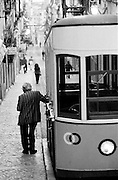 It's in Duarte Belo Street that Bica's Tram runs up and down. The tram is the ex-libris of this typical neighbourhood.