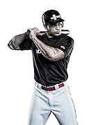 Giancarlo Stanton in White by Reggie Ferraz, sports commercial and advertising photographer.