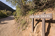 Holy Jim Trail in the Cleaveland National Forest