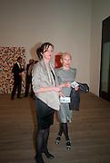 MARGOT HELLER; EMILY KING, Damien Hirst, Tate Modern: dinner. 2 April 2012.