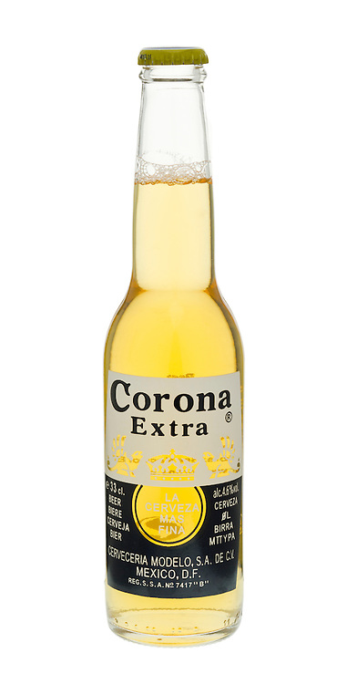 Bottle of Corona Extra Beer - March 2012