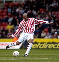 Photo. Glyn Thomas. 05/03/2005.<br /> Stoke City v Brighton. Coca Cola Championship.<br /> Stoke's Michael Duberry.