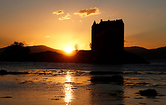 Castle Stalker Sunset | Loch Linnhe | 15 September 2016