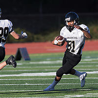 Westmont vs Mitty in a preseason football game at Westmont High School, Campbell CA on 9/14/17. (William Gerth/Max Preps)