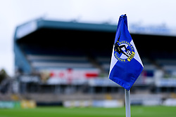 A general view of the Corner Flag at the Memorial Stadium  prior to kick off  - Mandatory by-line: Ryan Hiscott/JMP - 28/08/2020 - FOOTBALL - Memorial Stadium - Bristol, England - Bristol Rovers v Cardiff City - Pre Season Friendly