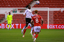 Freddie Ladapo of Rotherham United has the ball - Mandatory by-line: Ryan Crockett/JMP - 20/10/2020 - FOOTBALL - The City Ground - Nottingham, England - Nottingham Forest v Rotherham United - Sky Bet Championship