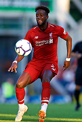 BLACKBURN, ENGLAND - Thursday, July 19, 2018: Liverpool's Divock Origi during a preseason friendly match between Blackburn Rovers FC and Liverpool FC at Ewood Park. (Pic by David Rawcliffe/Propaganda)
