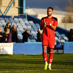 TELFORD COPYRIGHT MIKE SHERIDAN 1/1/2019 - Brendon Daniels of AFC Telford during the Vanarama Conference North fixture between AFC Telford United and Nuneaton Borough FC.
