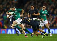 Rugby Union - 2017 Guinness Series (Autumn Internationals) - Ireland vs. Argentina<br /> <br /> Ireland's Rob Kearney in action against Argentina's Ramiro Moyano, at the Aviva Stadium.<br /> <br /> COLORSPORT/KEN SUTTON