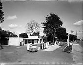 1962 - Shell Service Station at Merrion Road, Dublin