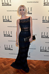 PORTIA FREEMAN at the 17th Elle Style Awards 2014 in association with Warehouse held at One Embankment, 8 Victoria Embankment, London on 18th February 2014.