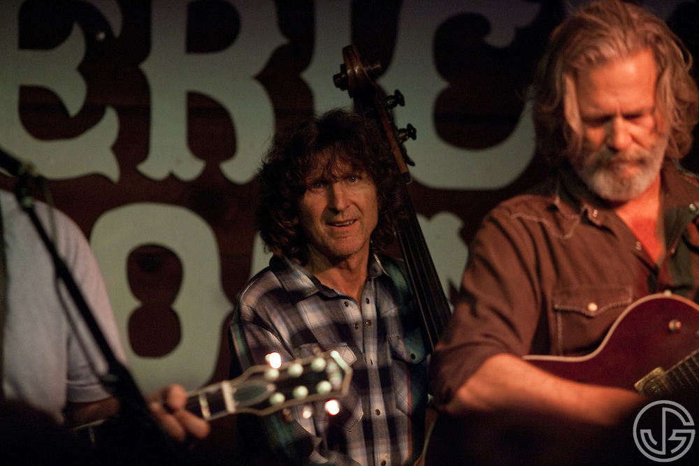 Randy Tico (standup bass) performs with Jeff Bridges at Maverick Saloon in Santa Ynez, California on June 23, 2011. Jeff Bridges' self-titled album is due for an August 16, 2011, release on Blue Note Records.
