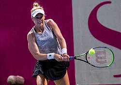 PORTOROZ, SLOVENIA - SEPTEMBER 18: Alison Riske of USA during the finals of WTA 250 Zavarovalnica Sava Portoroz at SRC Marina, on September 19, 2021 in Portoroz / Portorose, Slovenia. Photo by Nik Moder / Sportida
